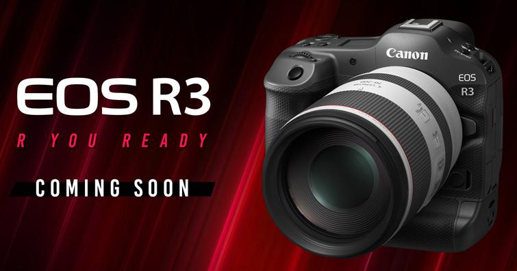 Canon曝光EOS R3更多性能規格訊息,大家可以準備回「佳」了