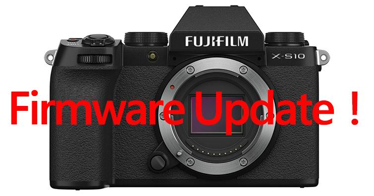 富士即將發布X-S10最新韌體ver.2.00,支援多項新拍攝功能