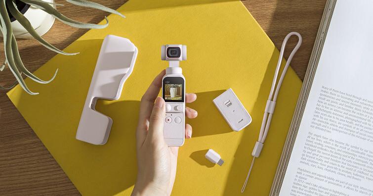DJI  發表 DJI Pocket 2  雲霧白限定套裝!全新配色,助力 VLOG 靈感拍攝