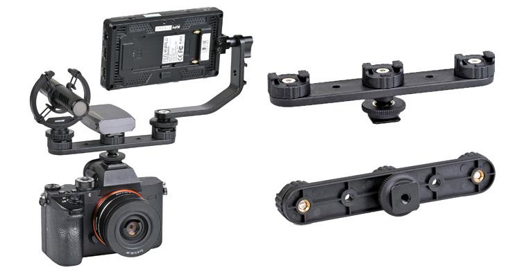 SLIK熱靴延伸活動支架發售,讓補光、收音、監視可更加方便