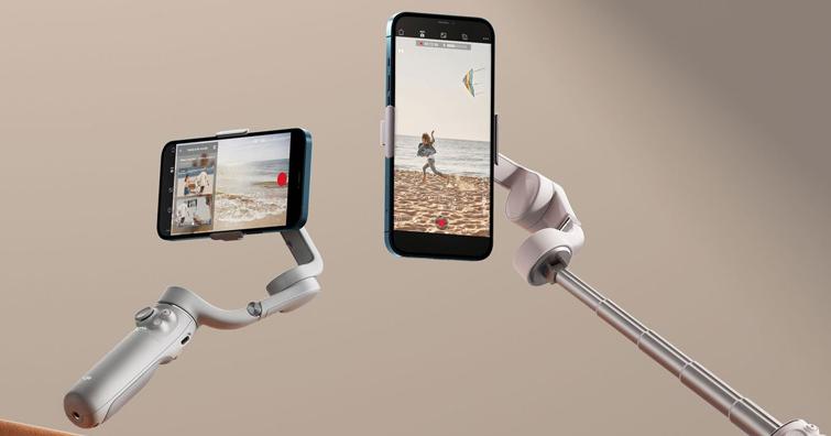 DJI OM 5手持穩定器開賣,磁吸手機夾+延伸加長桿設計,建議售價NT$ 4,590